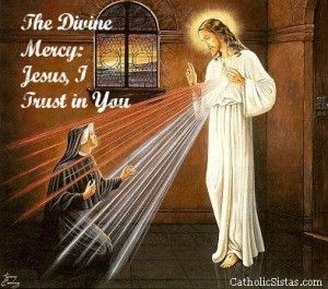 The Divine Mercy: Jesus, I Trust in You - Catholic Sistas