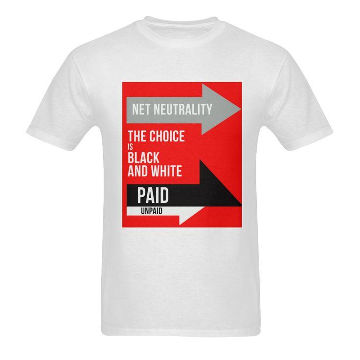 Net Neutrality Arrows Men's T-shirt