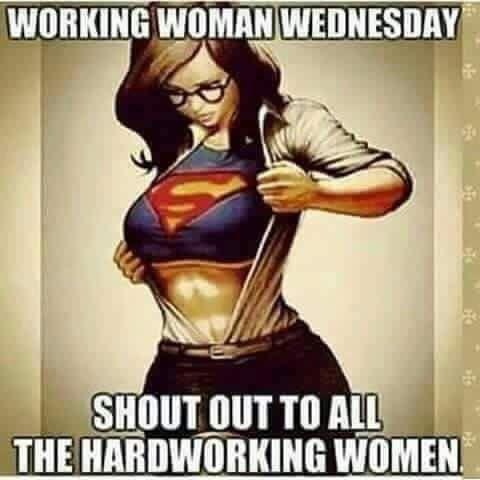 Mean #Business - Working Women Wednesday … work it!