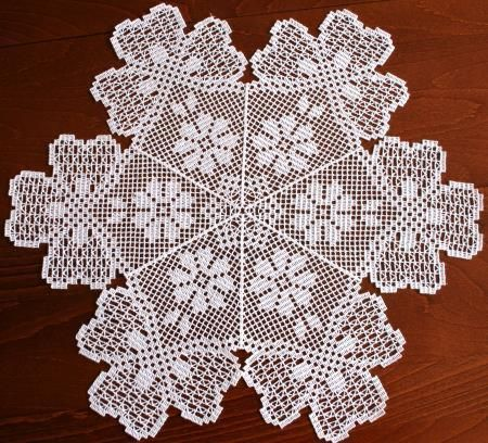 Advanced Embroidery Designs - FSL Crochet Shamrock Doily