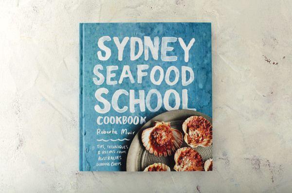 Sydney Seafood School Cookbook by Arielle Gamble, via Behance