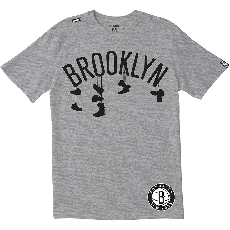 not usually into sports teams but this brooklyn nets shirt is kinda fun