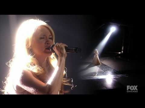 "Carrie Underwood - Oh Holy Night - HD - Fox ""An All Star Holiday Special"" 12 07 2009"