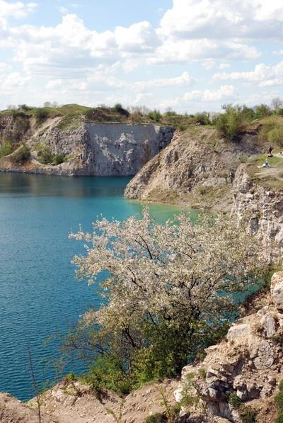 Zakrzowek, jezioro w środku miasta