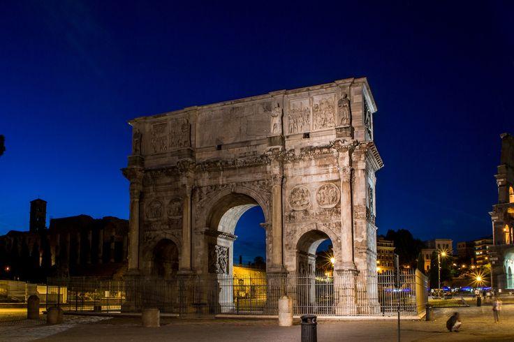 Arch of Constantine, Rome, Italy | by svetlana.koshchy