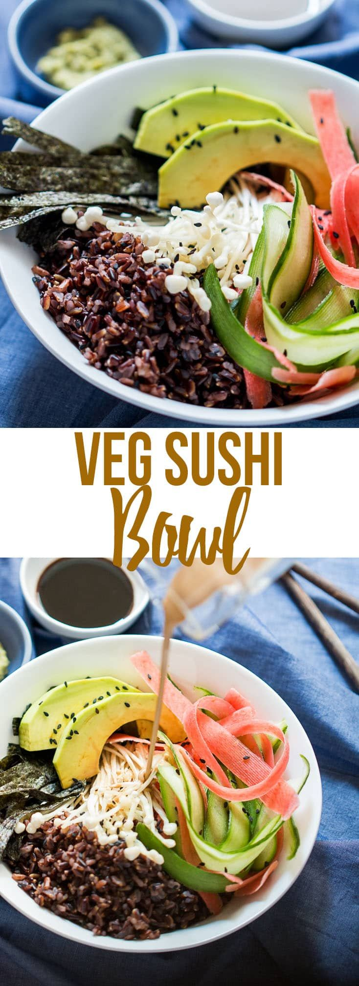 781 best japanese recipes images on pinterest japanese cuisine an easy vegetarian sushi bowl recipe with teriyaki dressing for instant sushi gratification ten tips to make great sushi forumfinder Choice Image