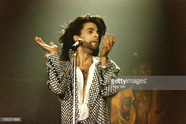Prince Nude Tour   News Photo : Prince performs on stage at Wembley Arena on his...