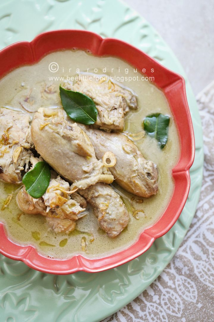 Cooking Tackle. Opor Ayam( Chicken Curry)