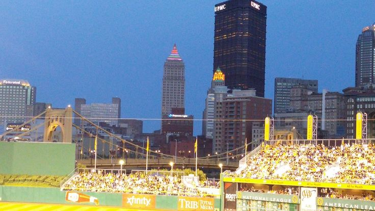 Beautiful night at PNC Park in Pittsburgh, PA