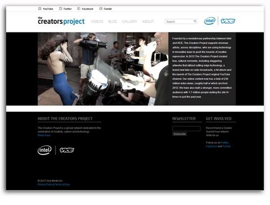 thecreatorsproject.vice.com Diseño: 5  Responsive: 2 Navegación: 3  Contenido: 4  Usabilidad: 5