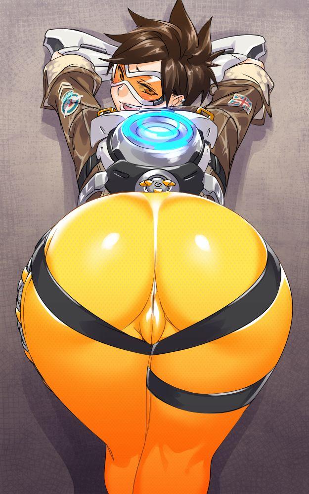 Female Hot ass naked animated