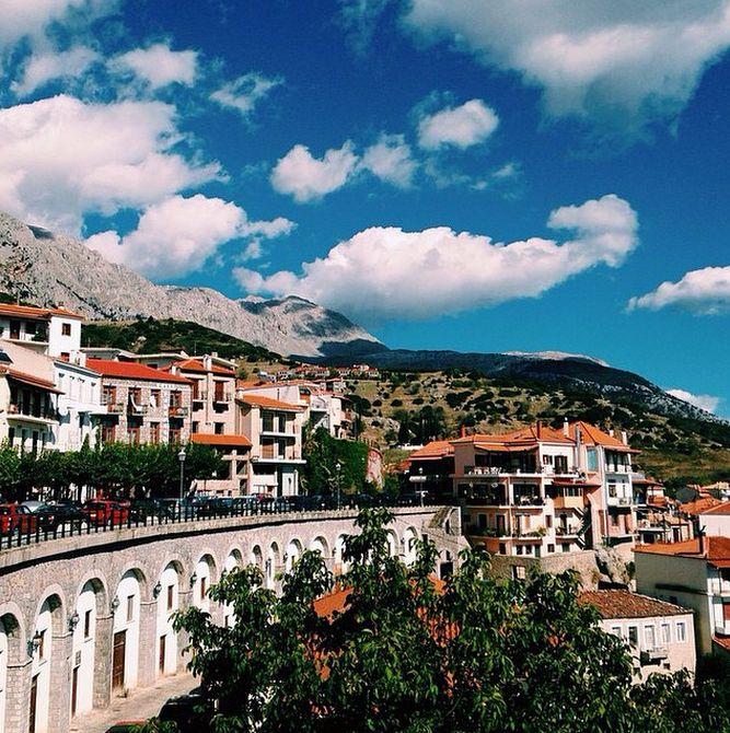 Arachova, Greece October 2014  http://instagram.com/cyathens