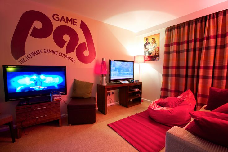 GAME Pad Living Room – a London hotel that GAME have kitted out for gamers during January 2012