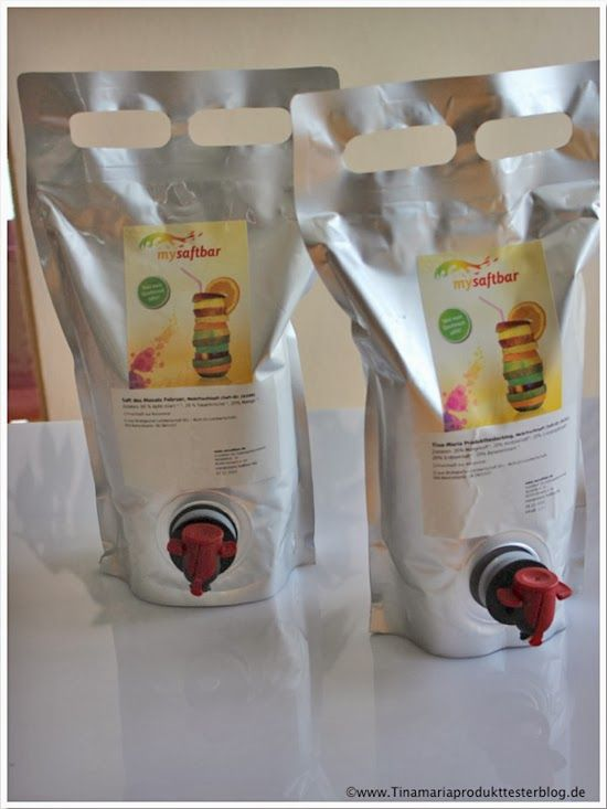 Tina-Maria Produkttesterblog: Individuellen Fruchtsaft von mysaftbar