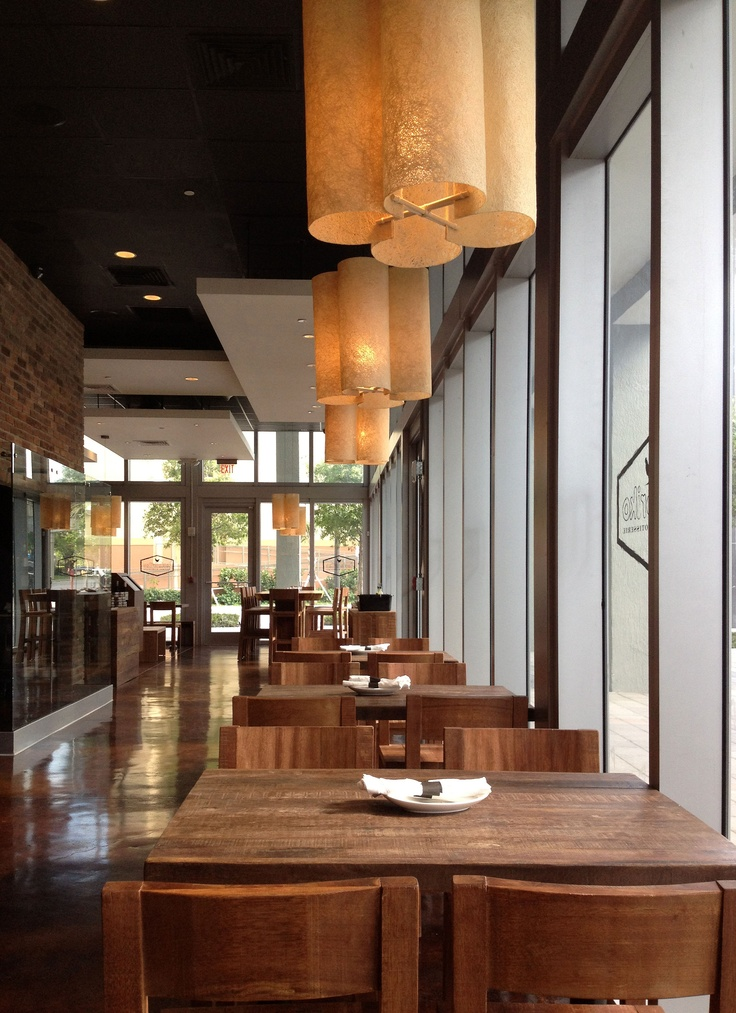Designed by Muriel Garderet, these pendant lamps are hand-crafted in Barichara, Colombia for SOW Design Studio's new Miami Richard Sandoval restaurant, Kokoriko. The wicker canvas fiber light fixtures reinforce the depth of eco-conscious design.