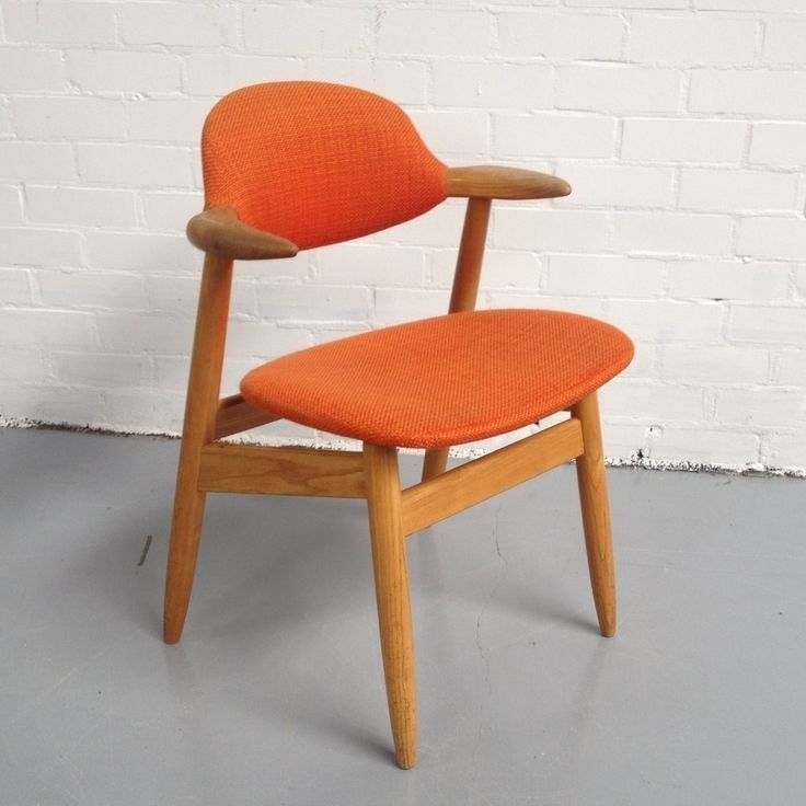 Located using retrostart.com > Cowhorn Dinner Chair by Unknown Designer for Tijsseling