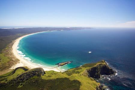 Spirits Bay in New Zealand