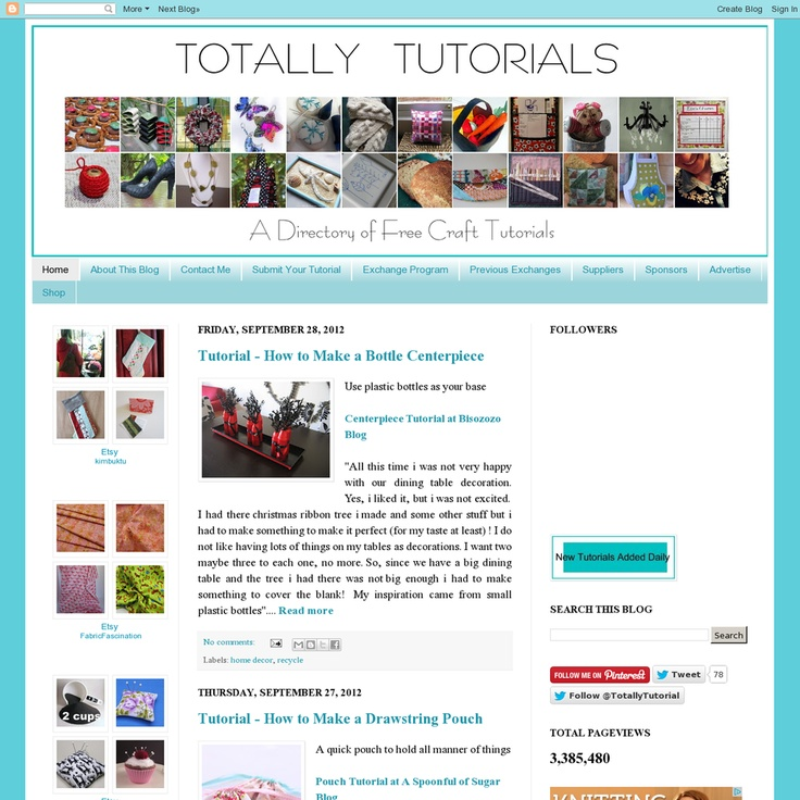 Website 'http://totallytutorials.blogspot.it/' snapped on Snapito!