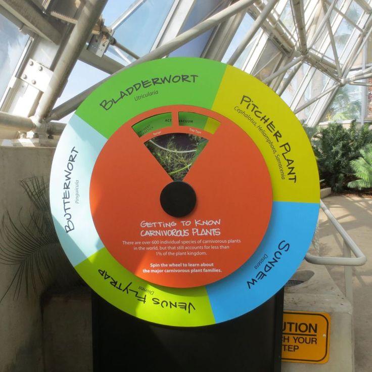 Savage Gardens exhibit spinner carnivorous plants San Antonio Botanical Garden Texas