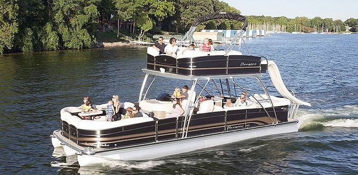 Double Decker Pontoon For Sale Google Search Party