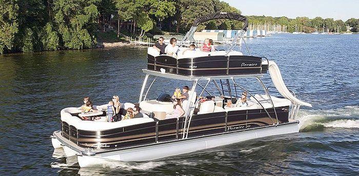 Fiberglass Water Slide For Houseboat