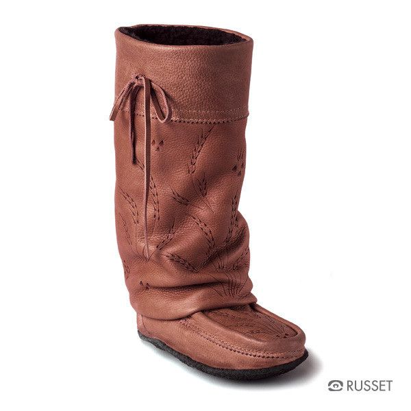 Manitobah Gatherer Tall Mukluk with Crepe Sole