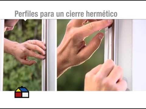 ¿Cómo elegir burletes para sellar puertas y ventanas? - YouTube