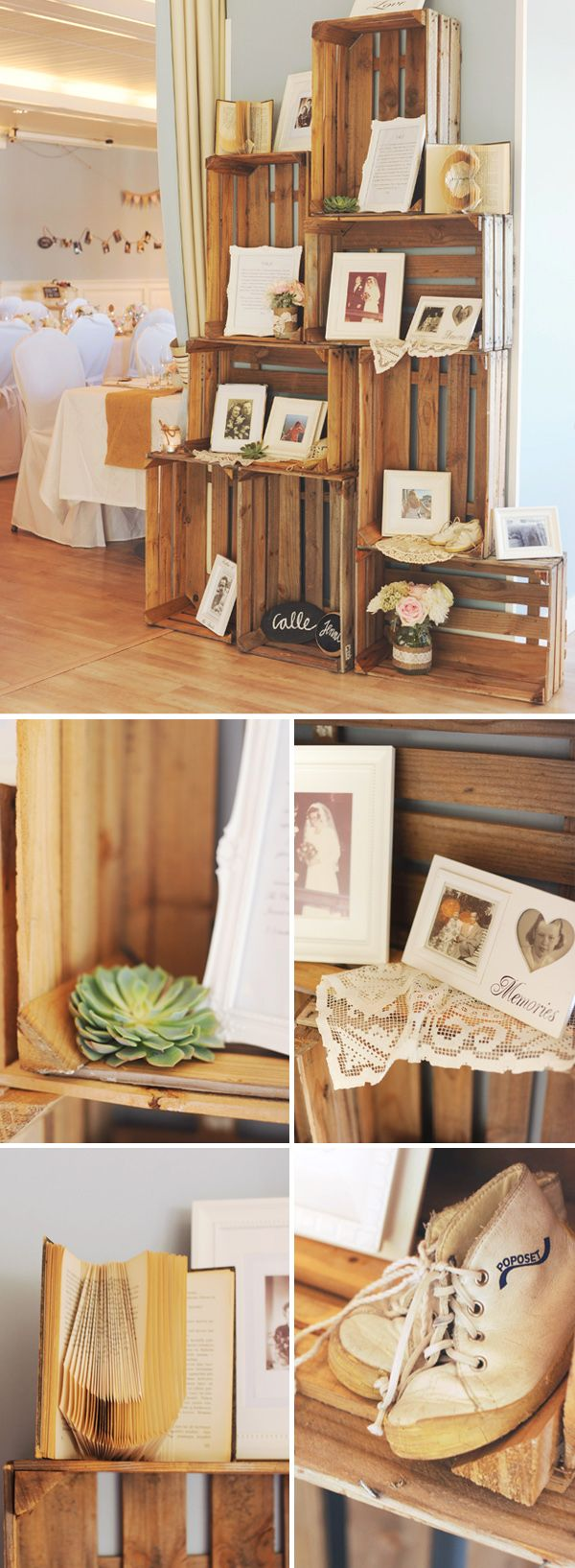 Hey Look: A ROMANTIC VINTAGE WEDDING: JENNI & CALLE