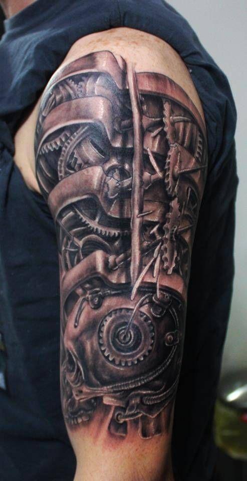 tattoos cyborg tattoos...