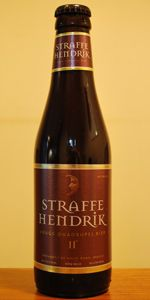 Straffe Hendrik Quadrupel is a Quadrupel (Quad) style beer brewed by Huisbrouwerij De Halve Maan in Brugge, Belgium. 91 out of 100 with 175 reviews, ratings and opinions.