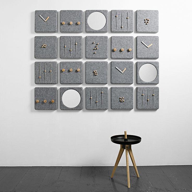 top3 by design - Menu - Norm Architect DK - menu felt panel clock