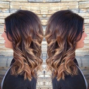 fall brunette ombre