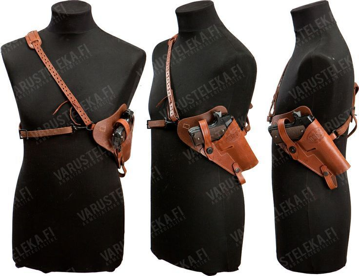 huckleberry shoulder holster - Google Search | Leather Work