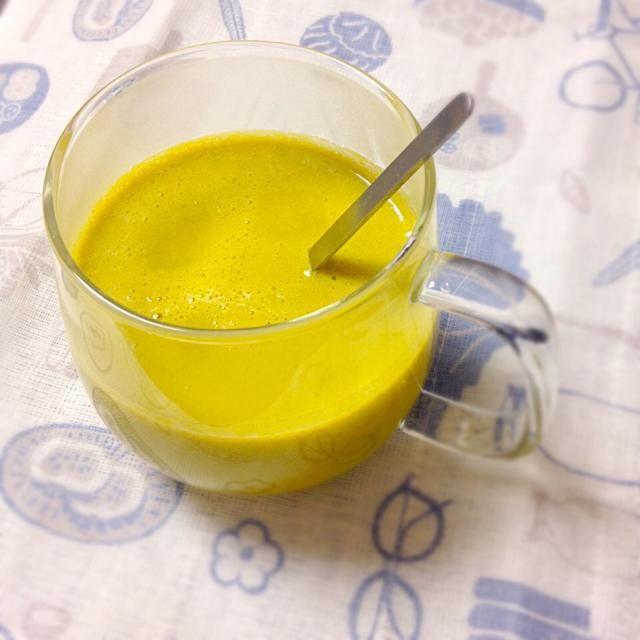 豆乳で作ってみた、和ポタージュ。めっちゃくちゃホッとするo(^_^)o写真には写ってないけど、パセリのかわりに刻み海苔でもグーでした。 - 60件のもぐもぐ - ヤマサ醤油公式アカウントさんの料理 かぼちゃの煮物のリメイク パンプキンスープ by exmt1or8