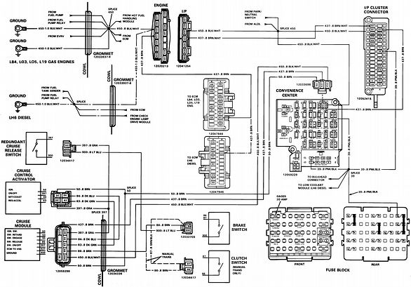Chevrolet Silverado K1500: I need a wiring diagram of the