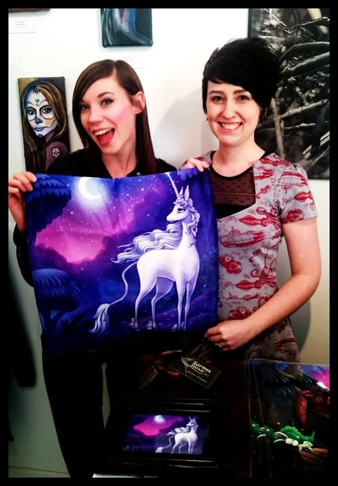 Jennelle with Ashley from Hidden Rainbows