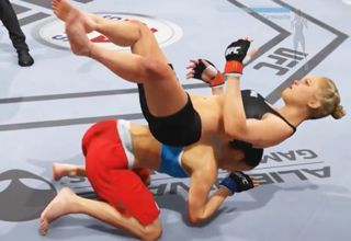 Mike Goldberg And Joe Rogan Commentate EA UFC Glitches