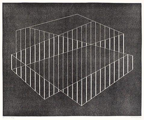 Josef Albers, Fenced, 1944
