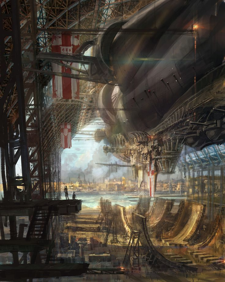 Image result for steampunk pics free airships