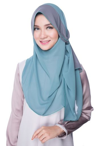 NINA pastel shawl. Crafted from high quality chiffon georgette.