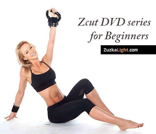 Zcut Kettlebell DVD series for Beginners | ZuzkaLight.com