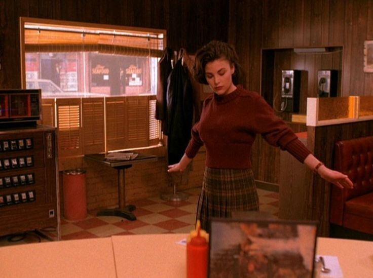 Twin Peaks Audrey Horn at the RR Diner