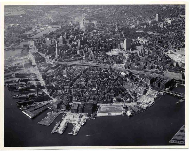 1960s Aerial North End And Downtown Landmark Commission
