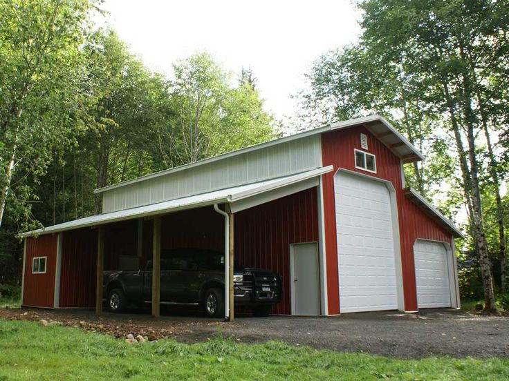 788 best barns images on pinterest horse stalls horse for Pole barn for rv storage
