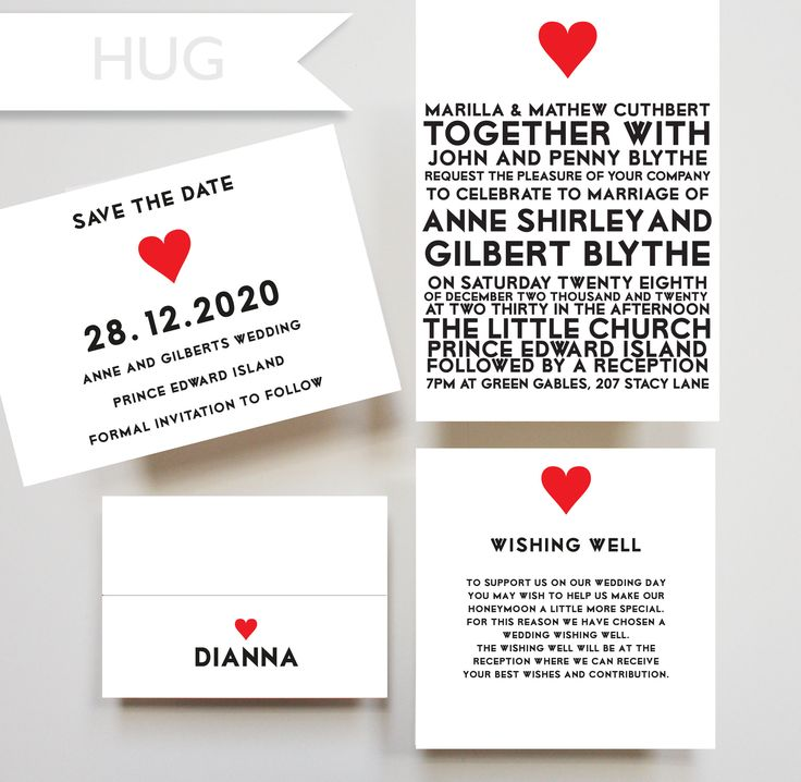110 best our wedding invitation designs images on pinterest hug invitation wishing well card placecard save the date card heart stopboris Image collections