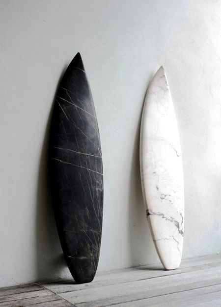 marble surf boards: nice art piece for the home