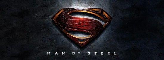 Logo Oficial del reboot de Superman, 'Man of Steel' que dirige Zack Snyder