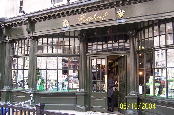 Hatchard's Book Store, London.   The most perfect book store I've ever been in.