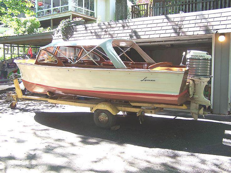 1959 Lyman 17 Outboard Runabout Lyman Boats Pinterest