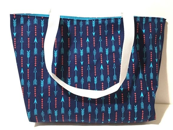 Arrow, Aztec Tote Bag via Tragedies and Cheesecake. Click on the image to see more!